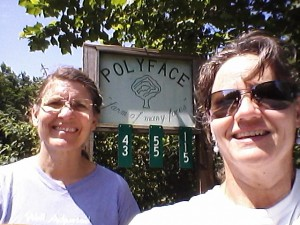 Claudia and myself at Polyface Farm in the Shenandoah Valley, VA