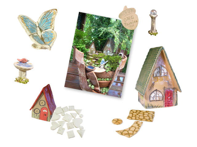Fairy Garden collage