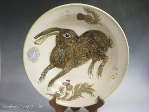 Thistle rabbit dish