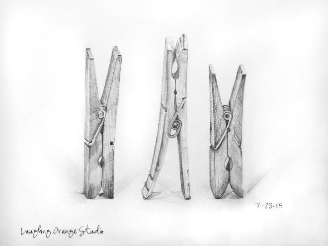 Clothespin Trio