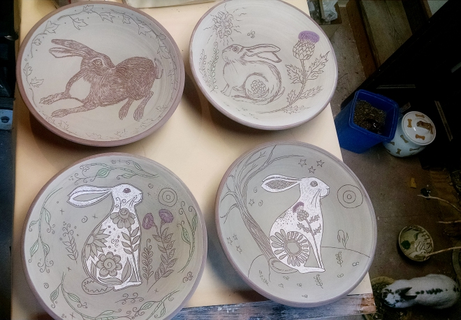 Day 26 4 bowls and a rabbit