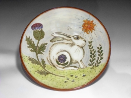 rabbit with Thistle-1